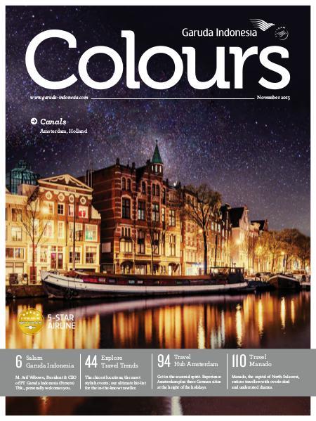 Garuda Indonesia Colours Magazine November 2015
