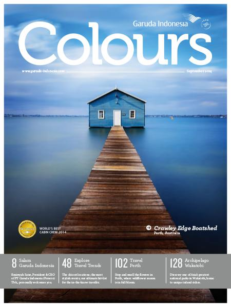 Garuda Indonesia Colours Magazine September 2014