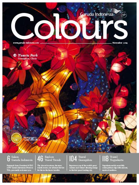 Garuda Indonesia Colours Magazine November 2014