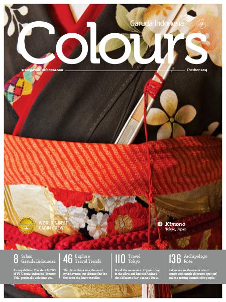 Garuda Indonesia Colours Magazine October 2014