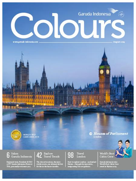 Garuda Indonesia Colours Magazine August 2014