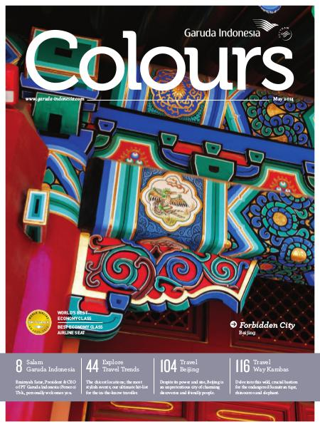 Garuda Indonesia Colours Magazine May 2014