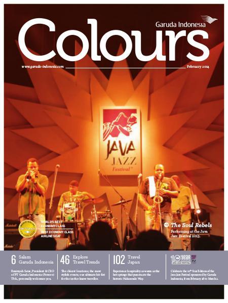 Garuda Indonesia Colours Magazine February 2014
