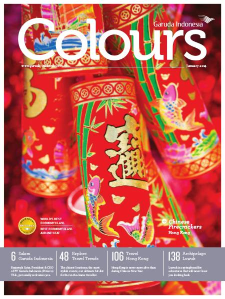 Garuda Indonesia Colours Magazine January 2014