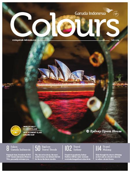 Garuda Indonesia Colours Magazine July 2014