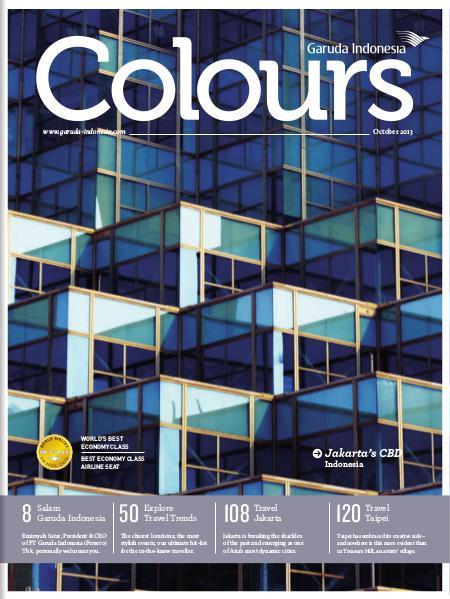 Garuda Indonesia Colours Magazine October 2013