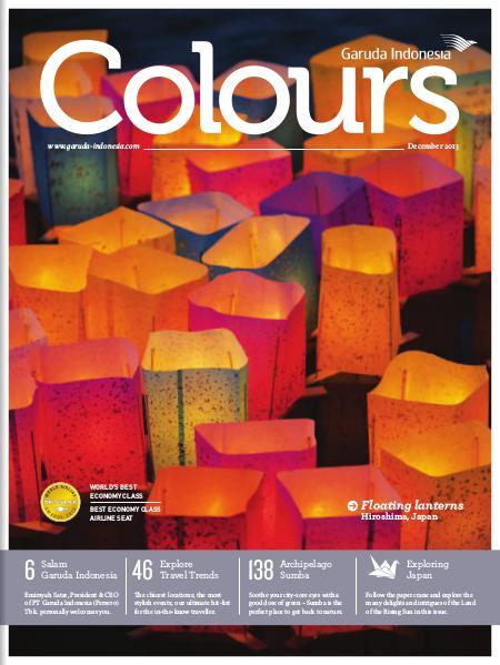 Garuda Indonesia Colours Magazine December 2013