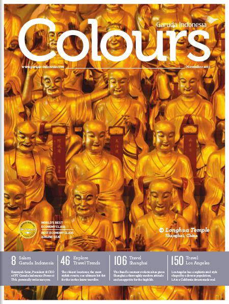 Garuda Indonesia Colours Magazine November 2013