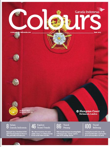 Garuda Indonesia Colours Magazine June 2013
