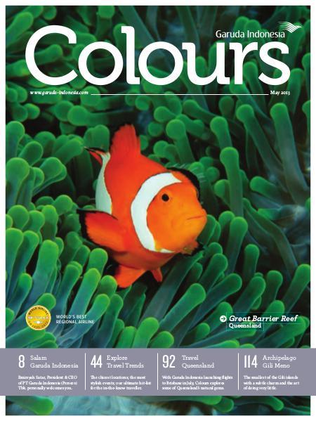Garuda Indonesia Colours Magazine May 2013