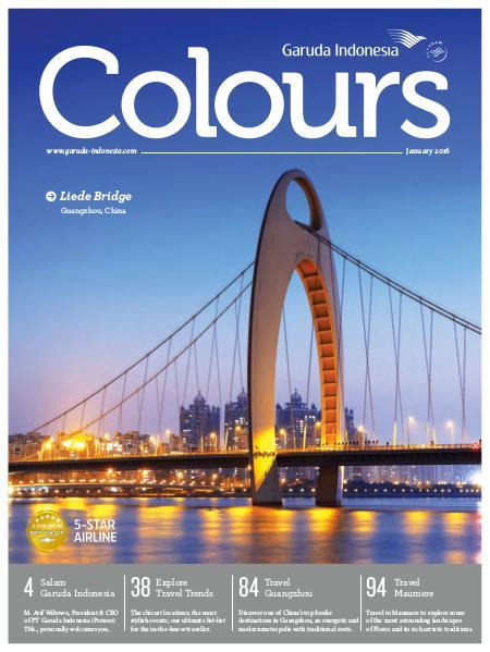 Garuda Indonesia Colours Magazine January 2016