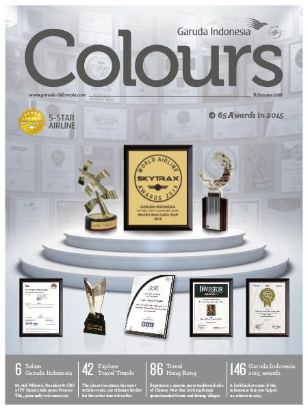 Garuda Indonesia Colours Magazine February 2016