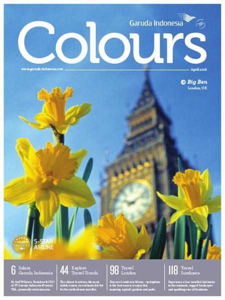 Garuda Indonesia Colours Magazine April 2016