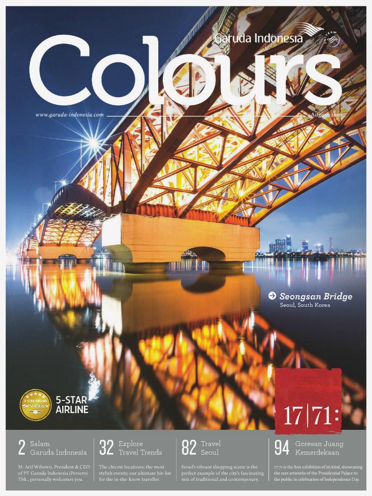 Garuda Indonesia Colours Magazine August 2016