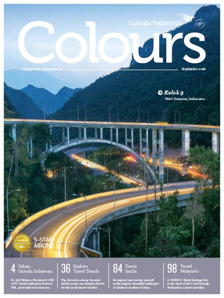 Garuda Indonesia Colours Magazine September 2016