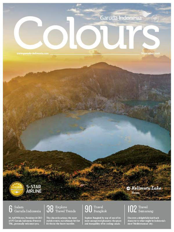 Garuda Indonesia Colours Magazine November 2016