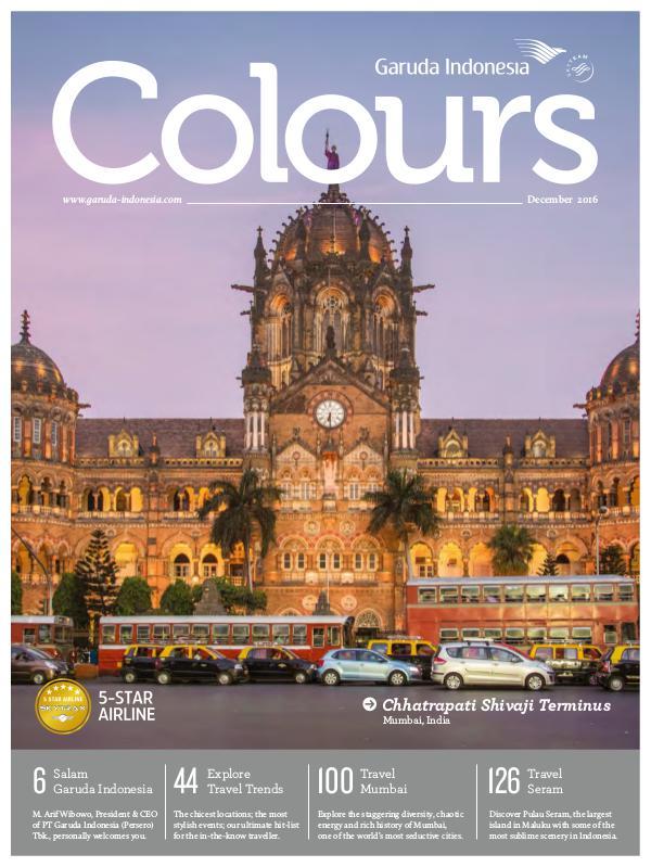 Garuda Indonesia Colours Magazine December 2016