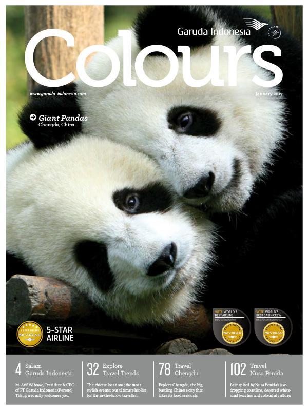 Garuda Indonesia Colours Magazine January 2017