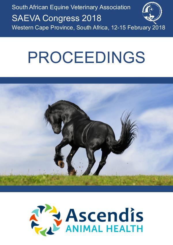SAEVA Proceedings 2018 4. Proceedings