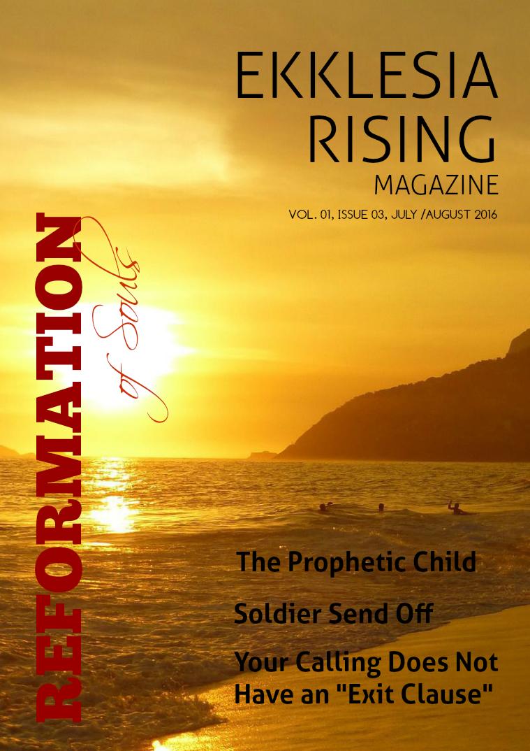 Ekklesia Rising Magazine Volume 1, Issue 3