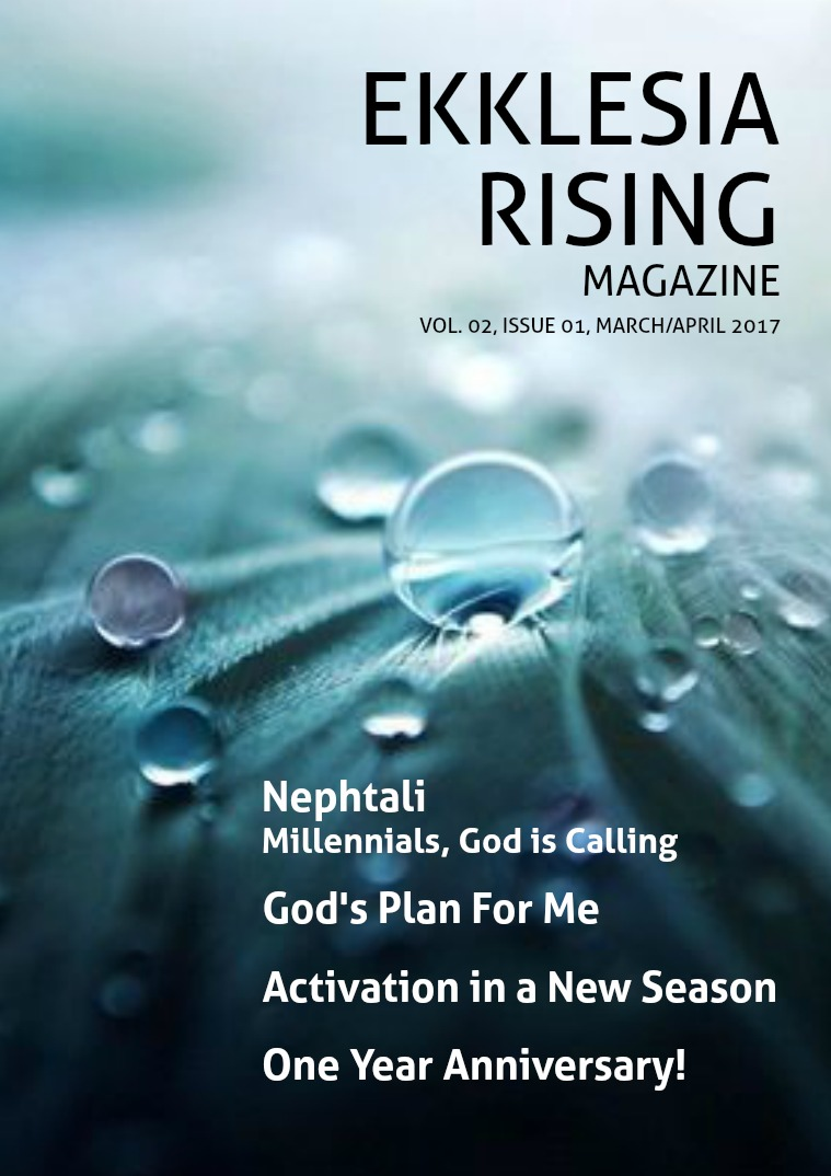 Ekklesia Rising Magazine Volume 2, Issue 1