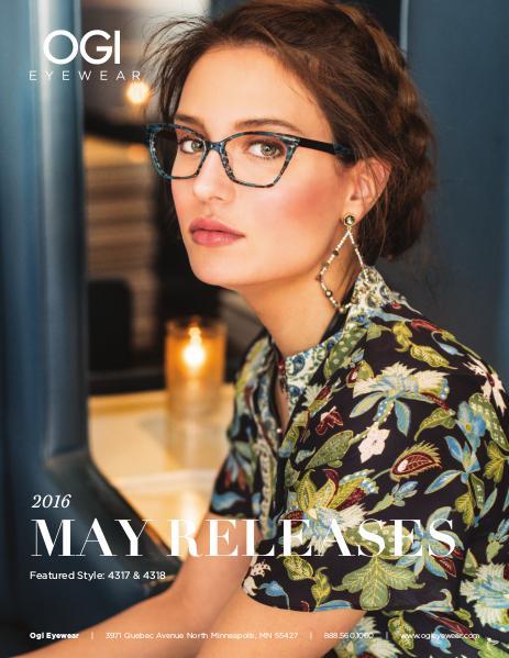 Ogi Eyewear New Releases May 2016