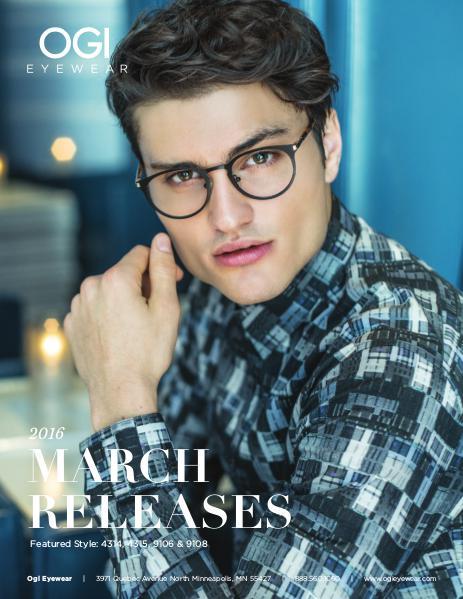 Ogi Eyewear New Releases March 2016