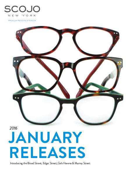 Scojo New York New Releases January 2016
