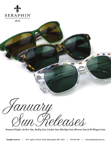 Seraphin New Releases January 2016