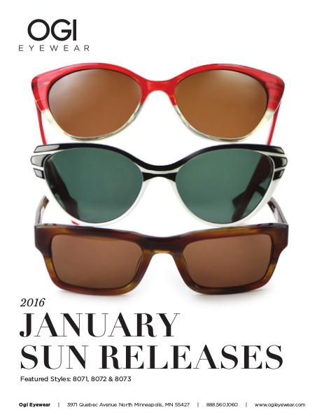 Ogi Eyewear New Releases January 2016