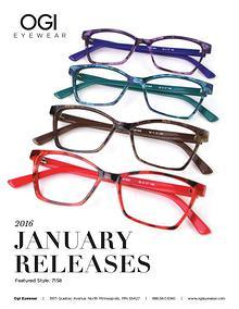 Ogi Eyewear New Releases