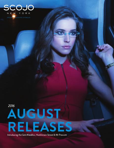 Scojo New York New Releases August 2016