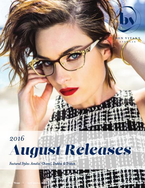 Bon Vivant New Releases August 2016 - 2