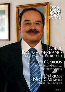 """Revista Portugal Protocolo """"27 - 2015"""