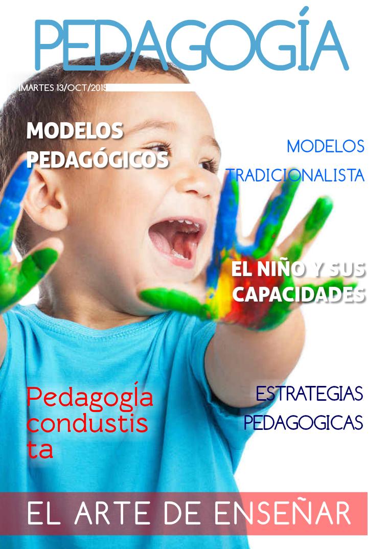 Modelos Pedagógicos Octubre. 2015