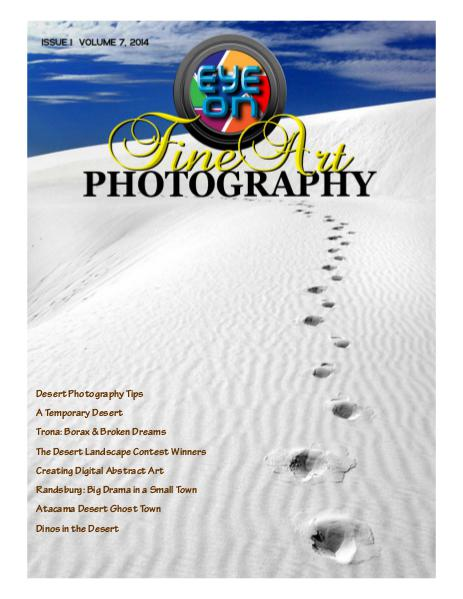 C&T Publications Eye On Fine Art Photography - September 2014
