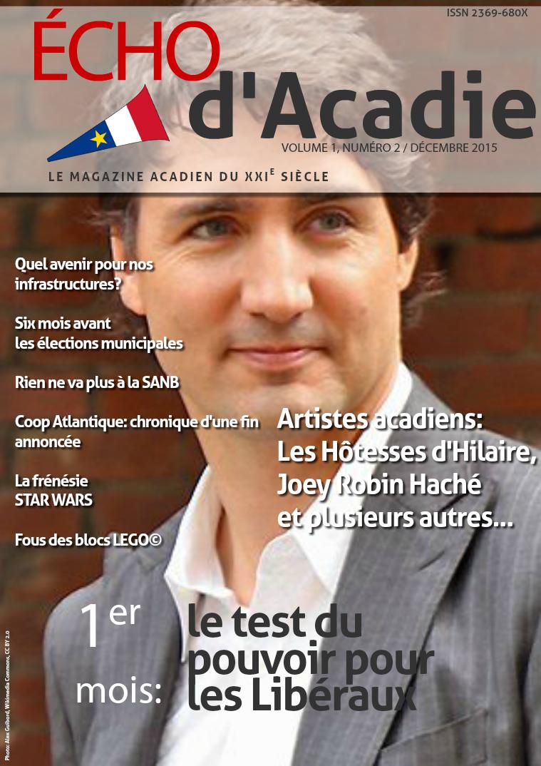 Écho d'Acadie Décembre 2015