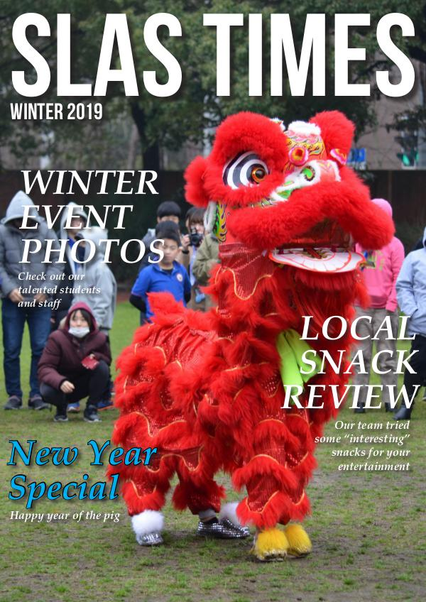 SLAS Times 2018/2019 Winter 2019
