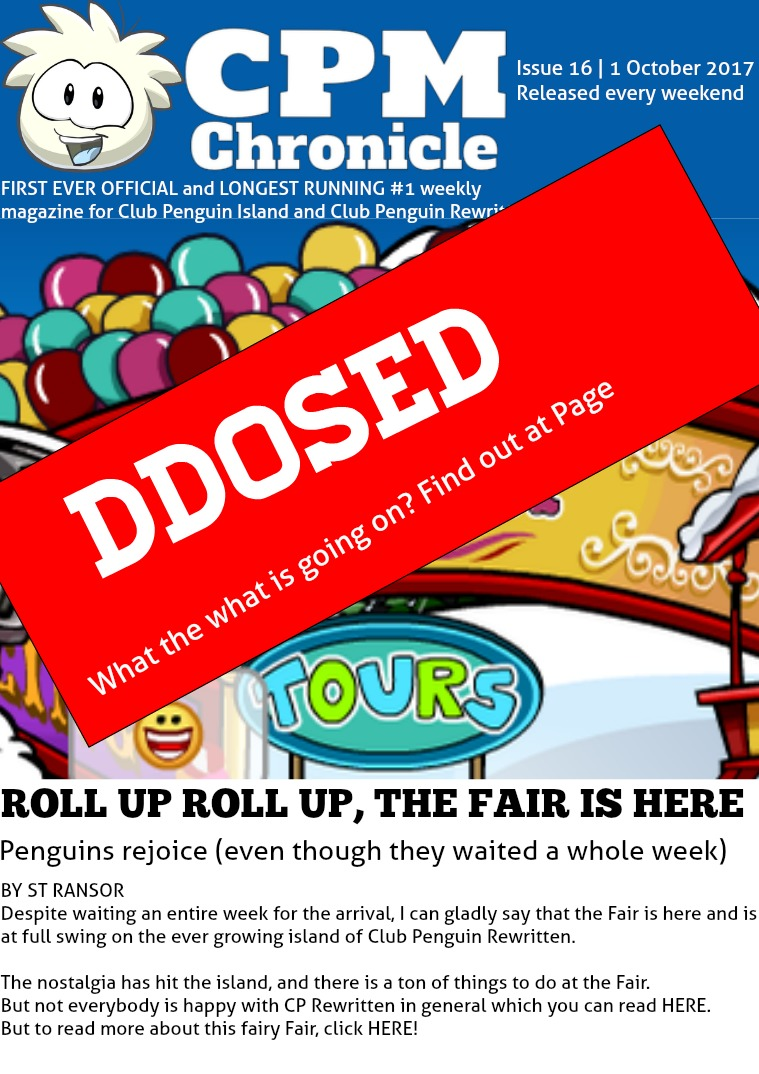 Club Penguin Metro Chronicle Issue 16