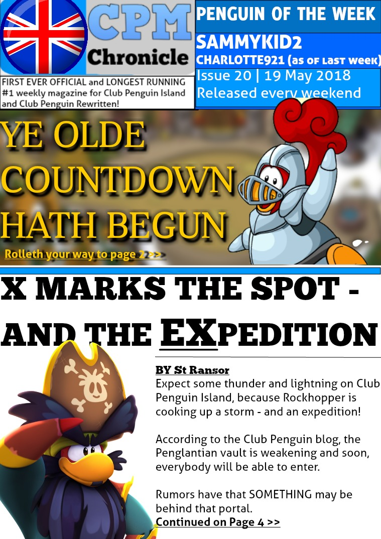 Club Penguin Metro Chronicle Issue 20