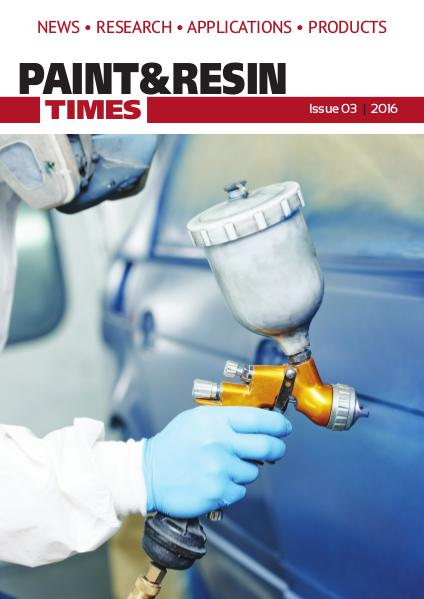 Paint & Resin Times - Issue 3 2016 Issue 3