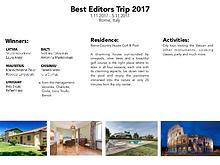 Best Editors 2017
