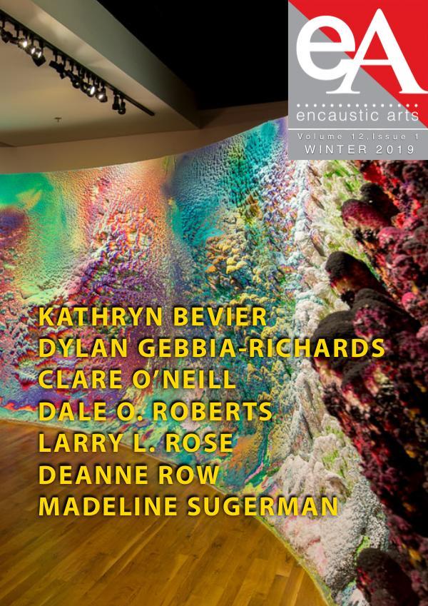 Encaustic Arts Magazine WINTER 2019