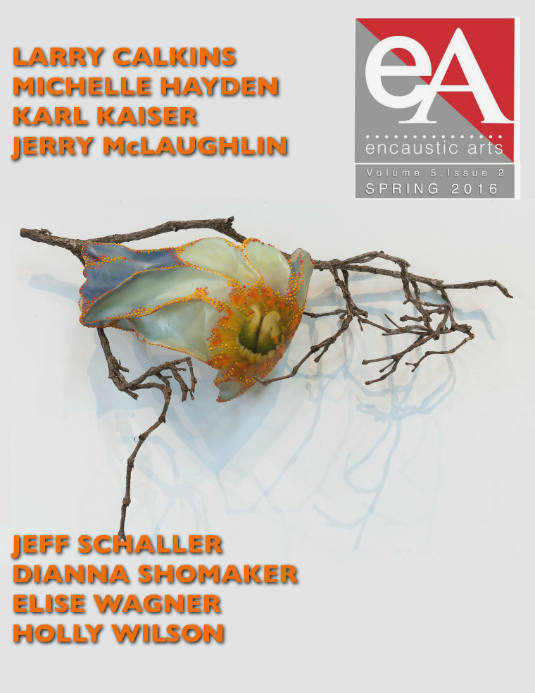 Encaustic Arts Magazine Spring 2016