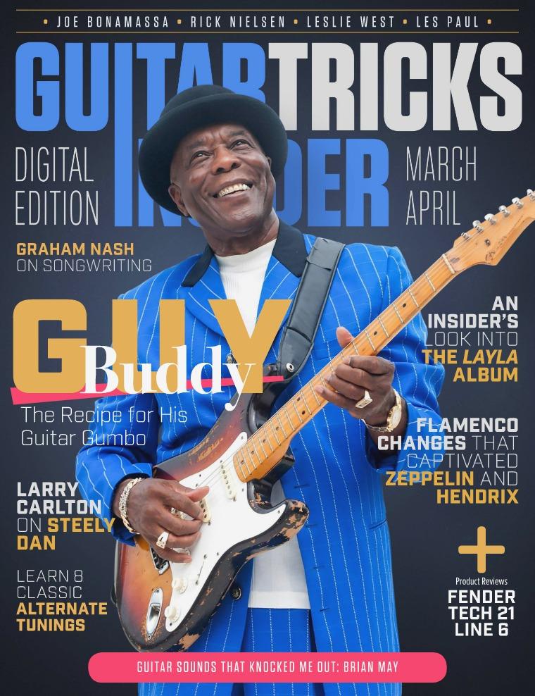 Guitar Tricks Insider March / April Issue