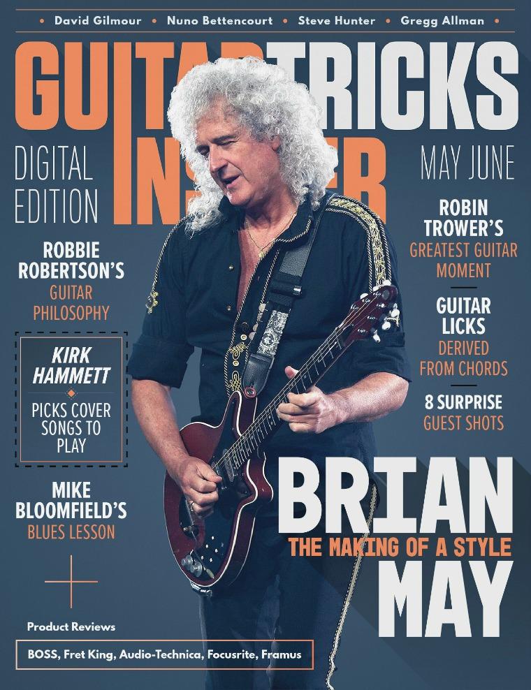 Guitar Tricks Insider May / June Issue