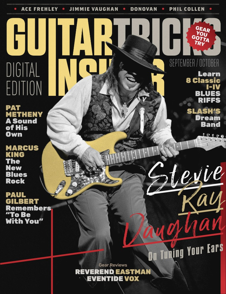 Guitar Tricks Insider September / October Issue
