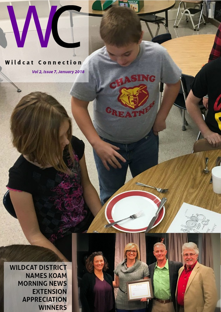 Wildcat Connection 2017-18 January 2018