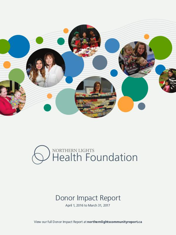Donor Impact Report 2017