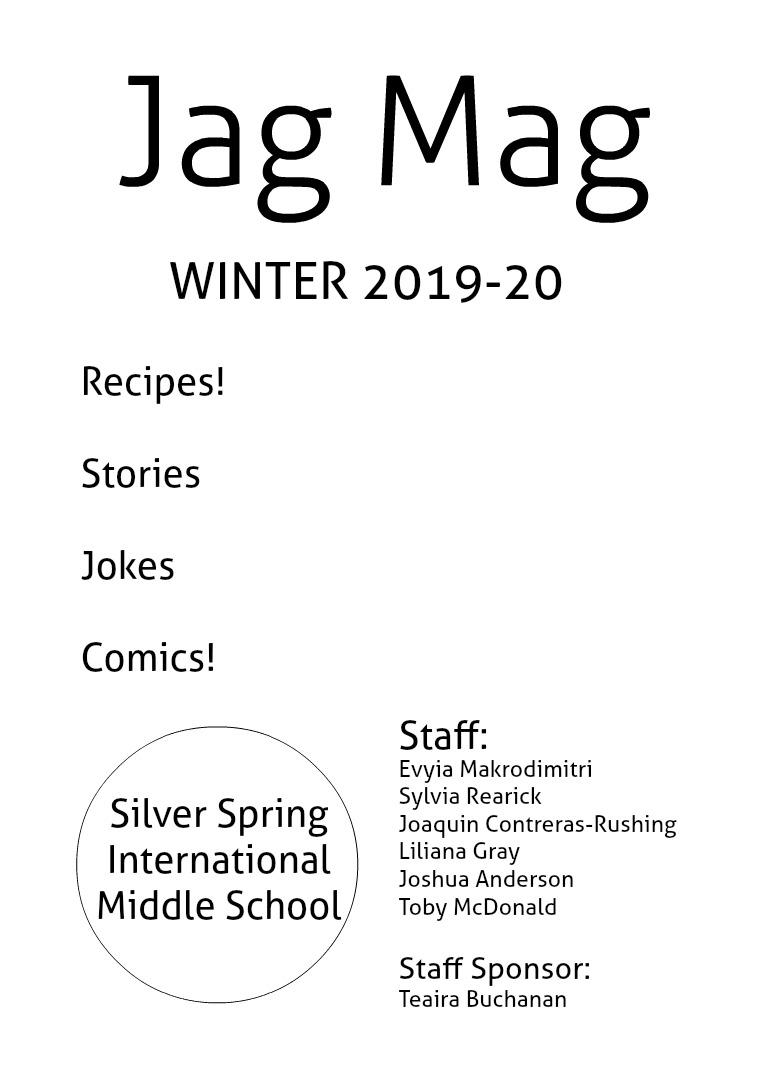 Jag Mag 2019-20 2020 Winter Issue